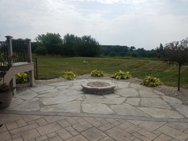 Outdoor fire pit in Brookfield, Elm Grove, New Berlin, WI