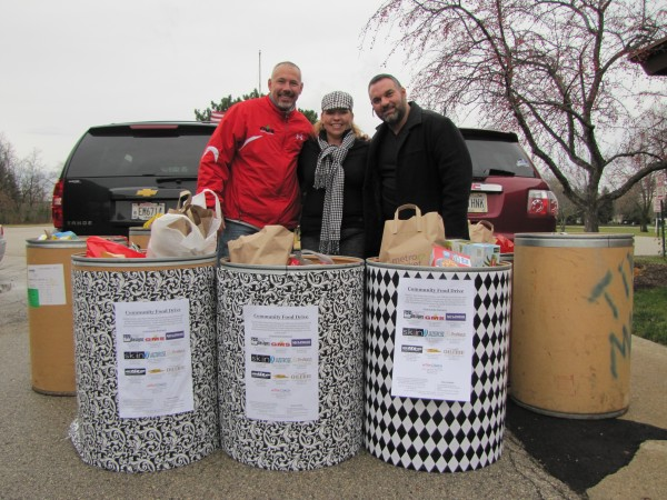 Community food drive in Brookfield, New Berlin and Elm Grove, WI