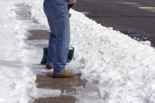 Snow Plowing of Parking Lots & Driveways