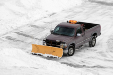GMS does Snow Plowing of Parking Lots & Driveways